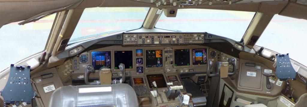 A330 Cockpit iPad