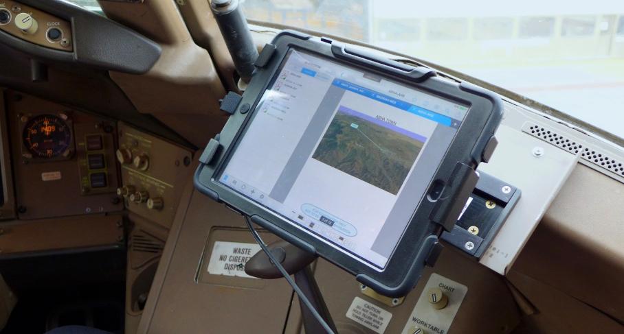 A330 EFB iPad